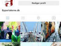 Byportalerne.dk er nu på Instagram