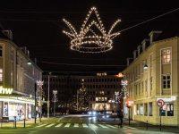 Juletræet tændes på Lyngby Torv