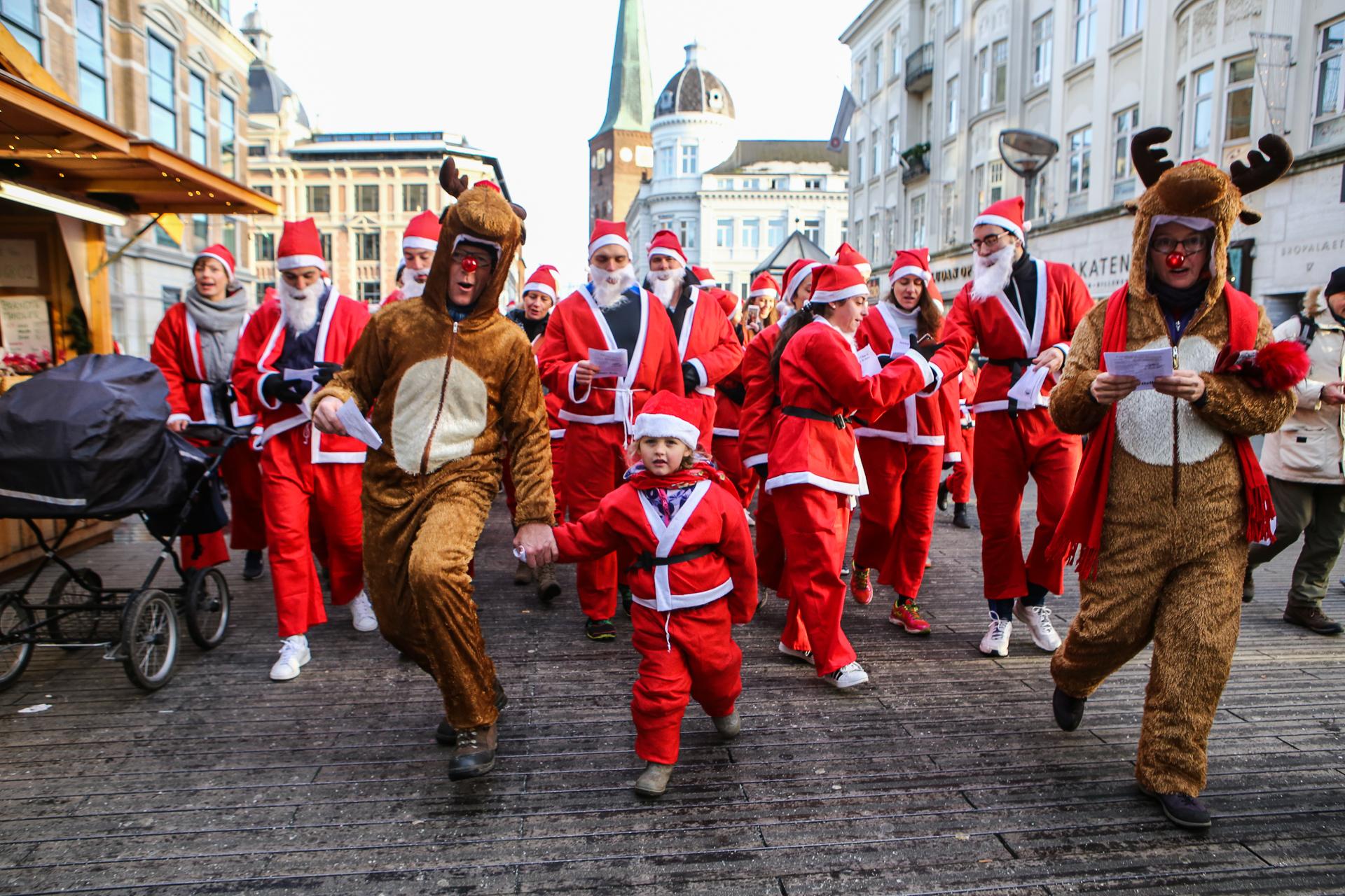 Lyngby, Julemand, juletræ