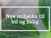 Nye Miljølån til Bil & Bolig, foto: BankNordik