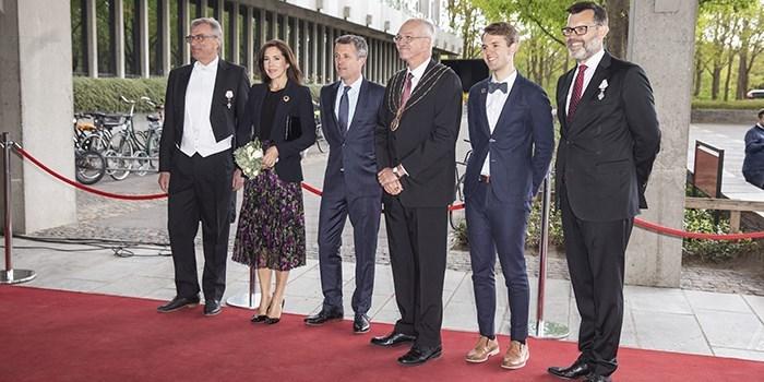 Kronprinsparret deltog i DTU Årsfest 2019