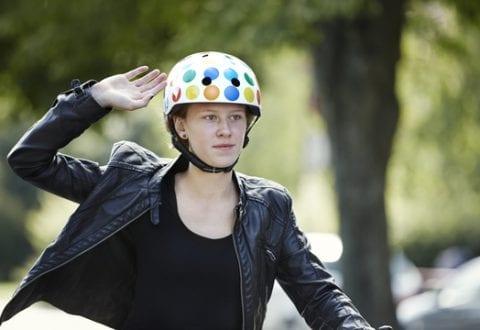 Cykelhjelm, foto: RfST