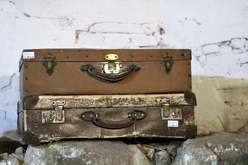Den stakkels efterladte kuffert