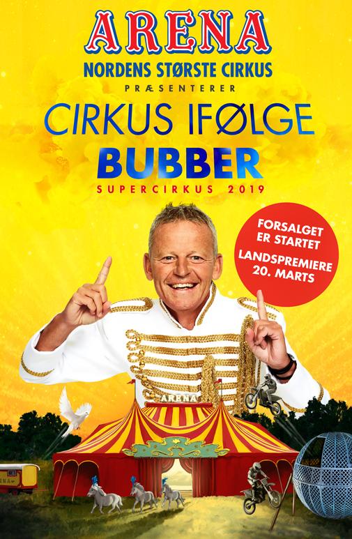 Cirkus Arena med Bubber