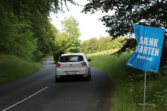 Næsten hver fjerde kører 100 km/t. på landevejene
