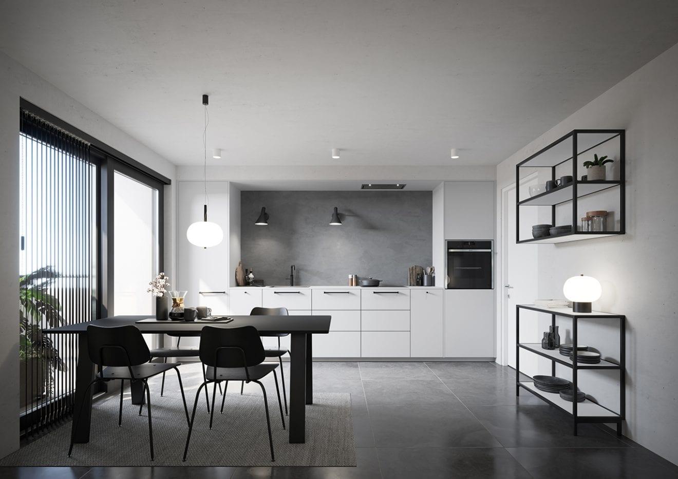 Det hvide køkken, der giver plads til at sprælle