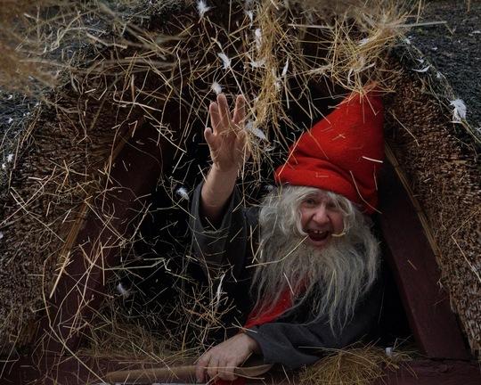 Julemagi og nisseløjer på Frilandsmuseet