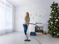 Julerengøring, foto: Støvsugerbanden