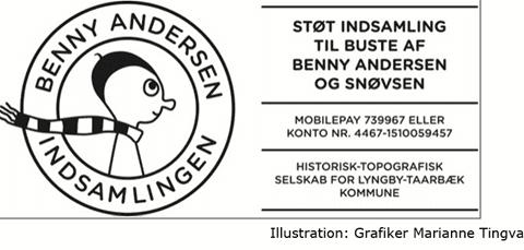 Benny Andersen indsamling, plakat LHTF