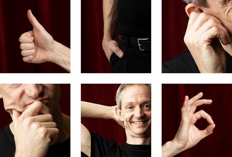 Salon: STYR LIGE DIT KROPSSPROG - v/foredragsholder Henrik Rasmussen