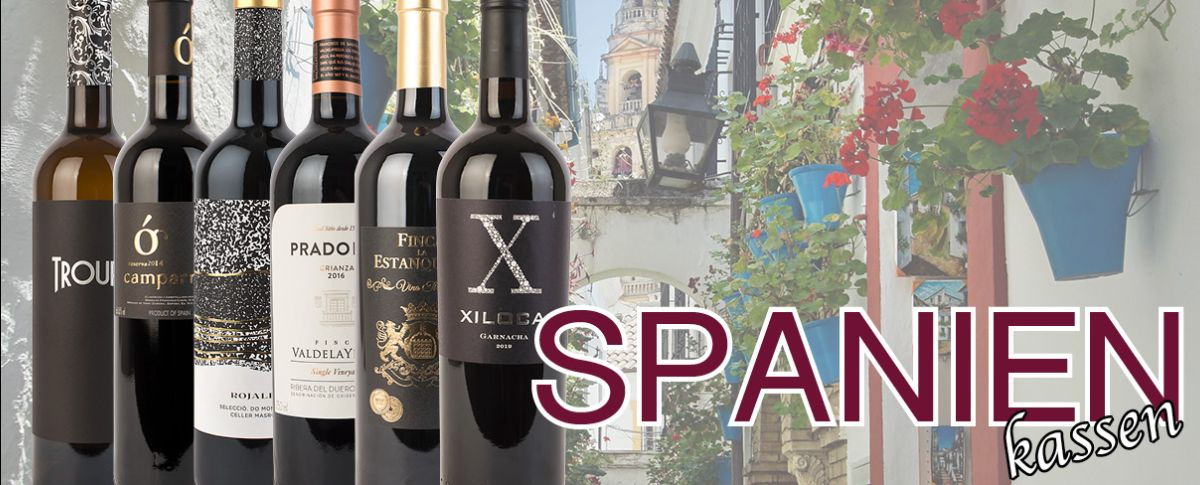 Smagekasse med Spansk Vin