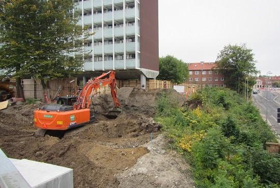 Nedbrydningsarbejdet ved Lehwaldsvej er afsluttet