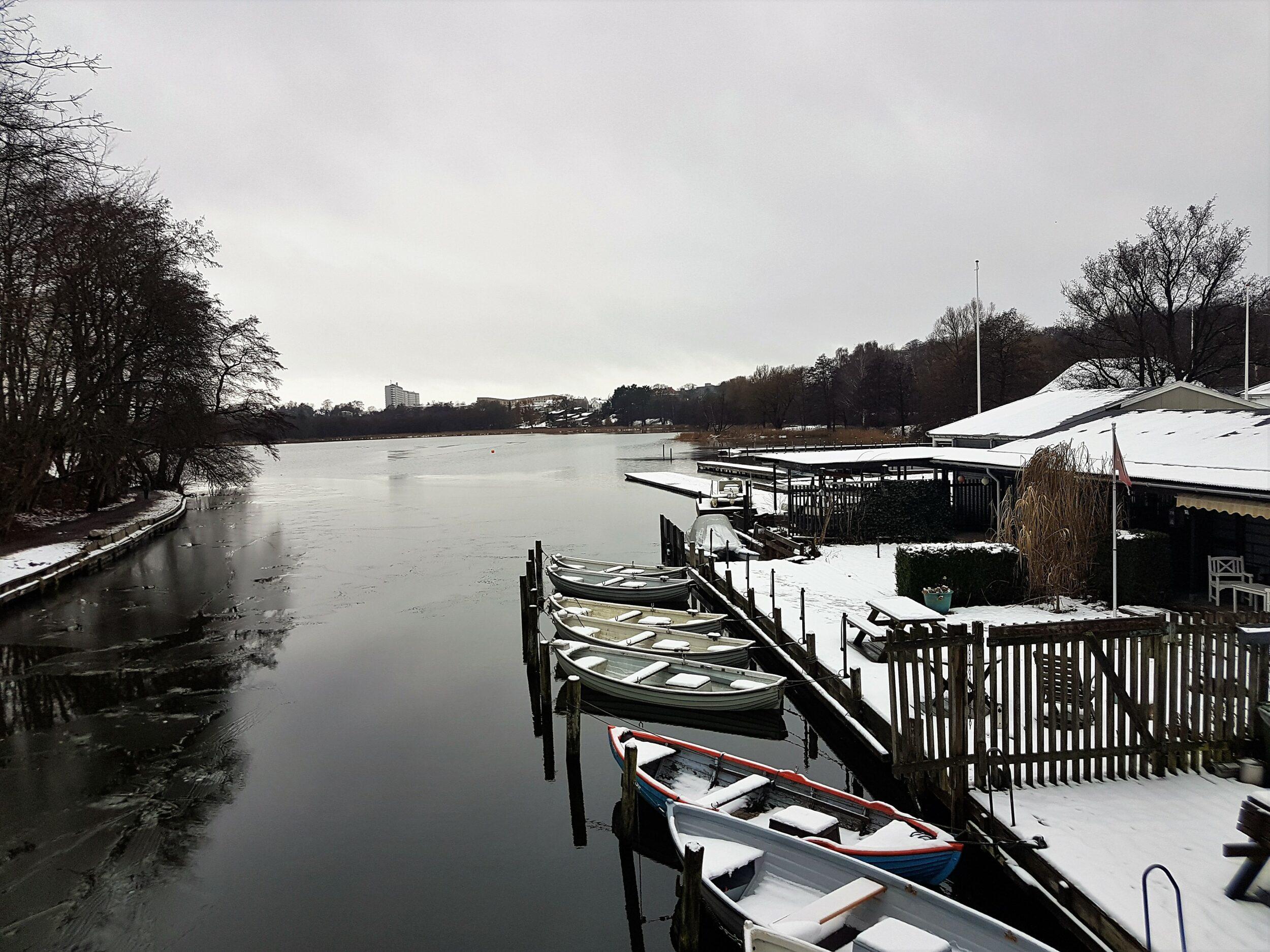 Vinter og sne i Lyngby-Sorgenfri