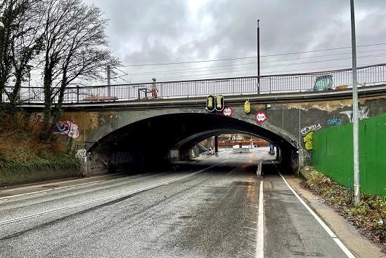 Viadukten er åben igen