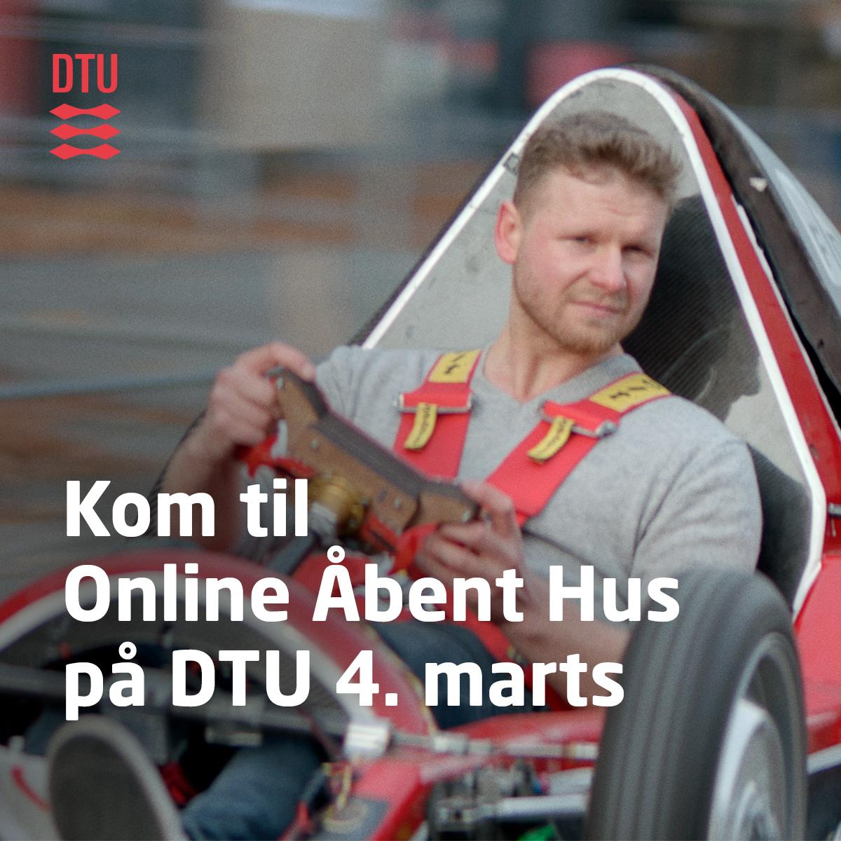 Online Åbent Hus på DTU 4. marts kl. 08.30-20.00