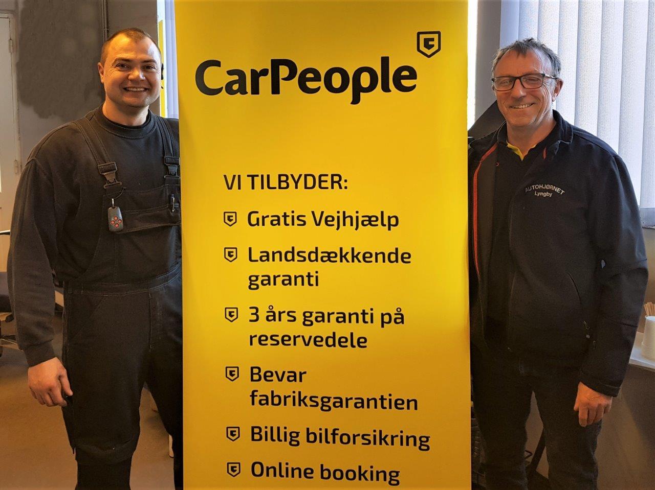 Autohjørnet Lyngby skifter farver og bliver del af CarPeople