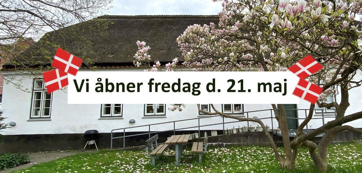 Generalforsamling d. 26. maj, åbning fredag 21. maj, samt nye krea-aktiviteter i Frivilligcentret.