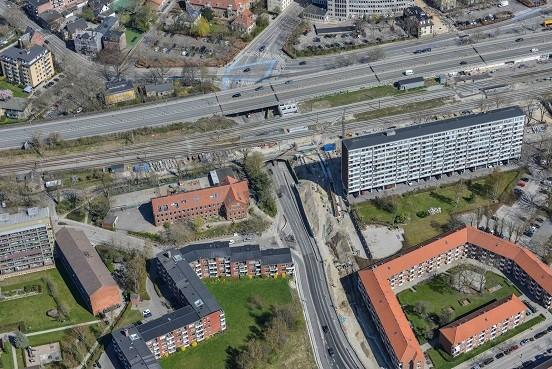 Letbanebyggeriet i Lyngby i maj og juni 2021