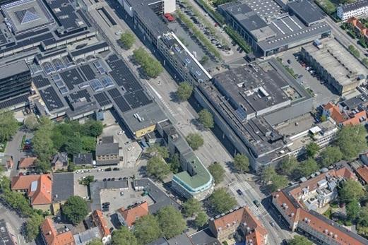 Letbanearbejdet går i gang på Klampenborgvej i centrum af Lyngby